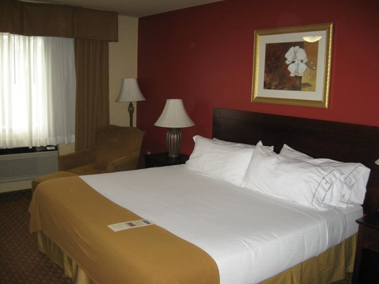 Holiday Inn Express Wisconsin Dells: King Bed