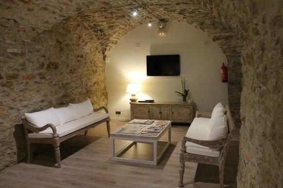 Hotel El Petit Convent: Zona comun