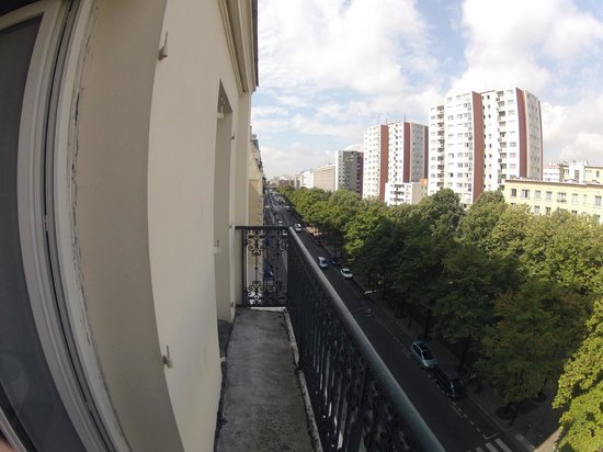 Hotel Le Canal: Balcony
