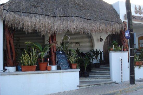 Los Fueguitos Steak House : At the very end of Av Guerrero