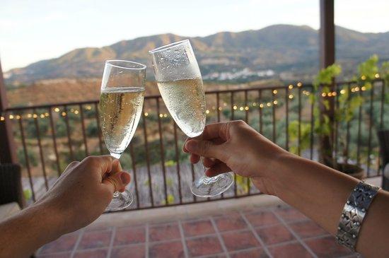 La Finca del Castillo Arabe : Celebrating our first anniversary at La Finca