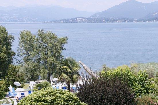 Hotel Conca Azzurra : vue sur le lac.