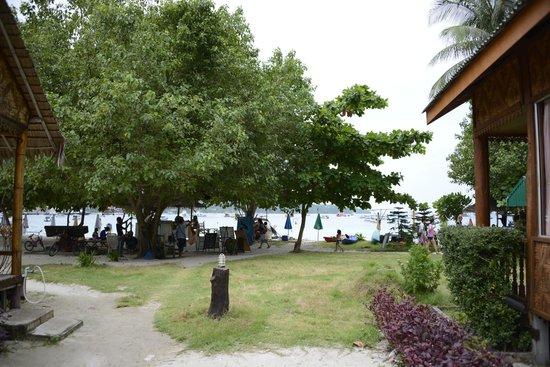 Phi Phi Sand Sea View Resort: Looking towards the Beach