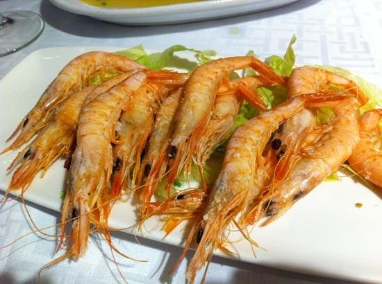 Francisco Fontanilla Restaurante : gambas plancha