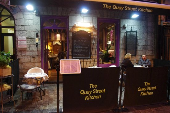 Quay Street Kitchen Restaurant Menu