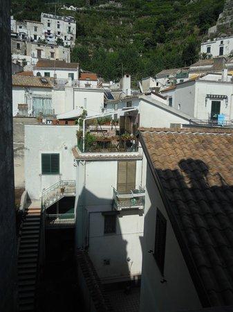Hotel Torre di Milo: Vista dal balcone di una camera lato interno