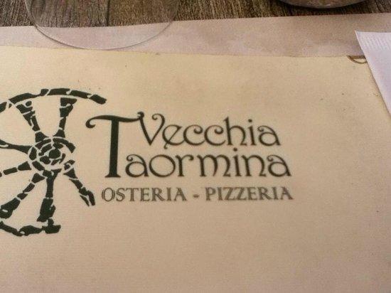 Pizzeria Vecchia Taormina: Restaurant