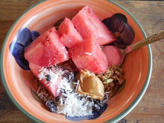 Mystical Yoga Farm: Breakfast