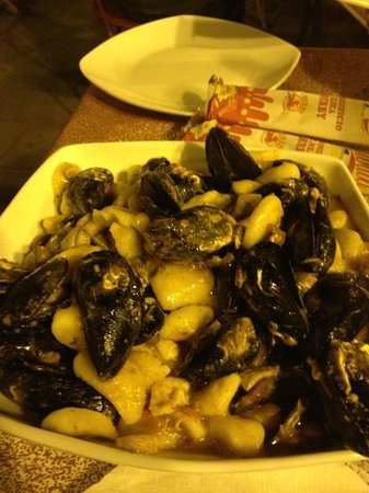 Sotto Il Santo - Spaghetteria : gnocchi mare e monti