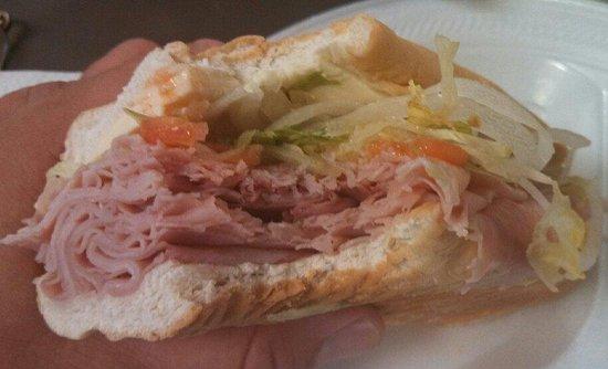 Holsinger's Meats: Holsinger's Ham & Cheddar Sub