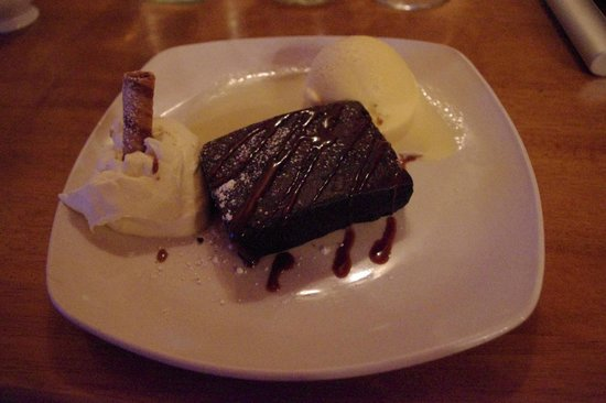 "The Brewery Bar and Restaurant: Un buon ""brownie"" al cioccolato"