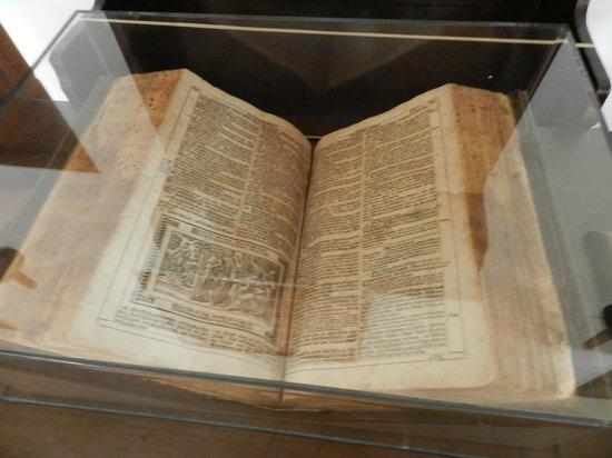 Ephrata Cloister: Old Bible written in German