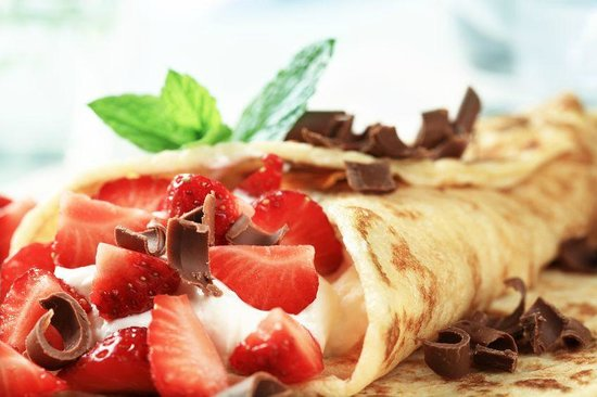 Dulce Verde Crepe, Kiwi and Nutella - Picture of I'm Hungry Crepes ...