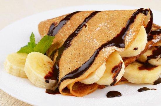 I'm Hungry Crepes Arenal Volcano: I'm Hungry Crepe, Banana and Netella