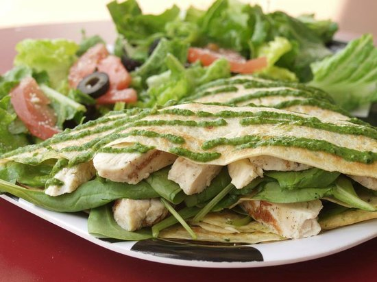 I'm Hungry Crepes Arenal Volcano: Criolla Crepe, Chiken