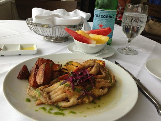 Golden Pheasant Inn: Soft Shell Crab