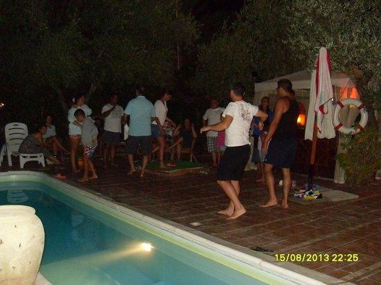 Residence Villa Ulimare : gioco del fazzoletto