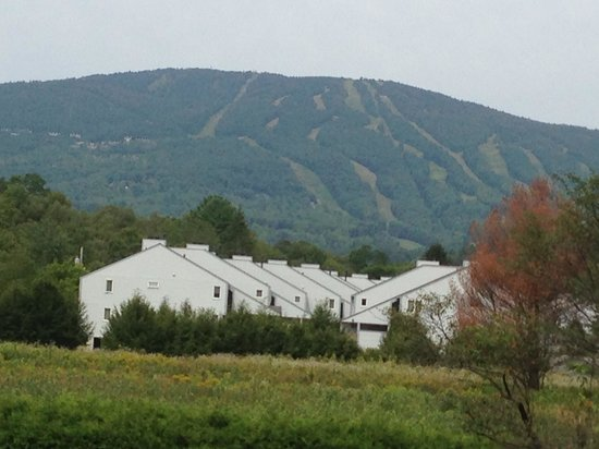 Timber Inn Motel : View of Okemo Mountain