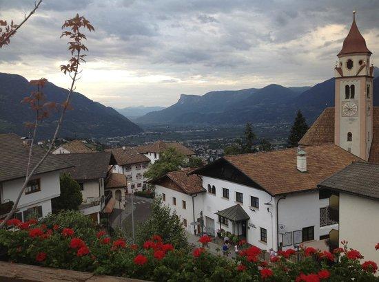 Mair am Turm: Panorama dalla terrazza grande