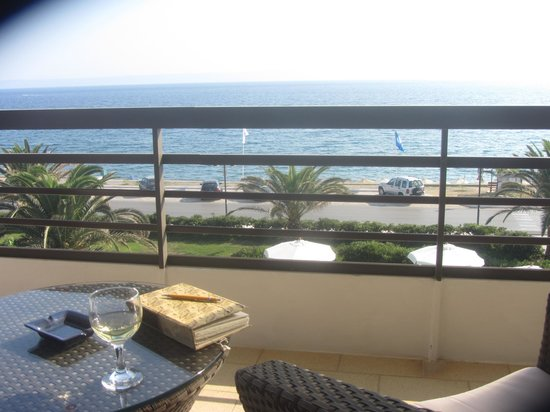 Hotel Limira Mare: View from our balcony.