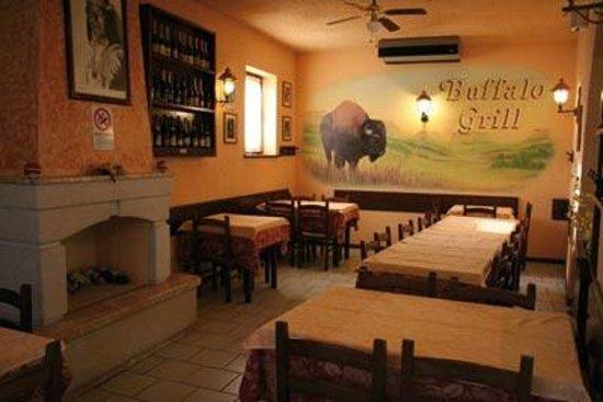 Buffalo Grill: saletta