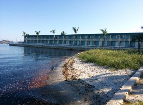 boardwalk on bridge picture of pg waterfront hotel. Black Bedroom Furniture Sets. Home Design Ideas