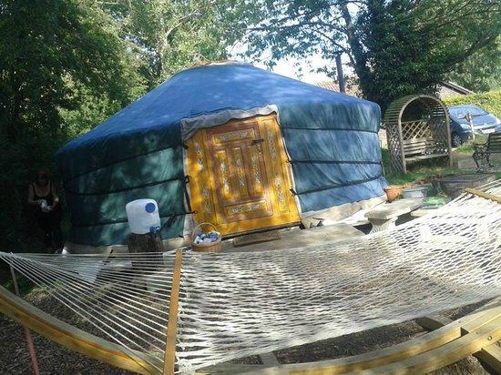 Norfolk Glamping & Yurt Holidays: Moonbeam Yurt
