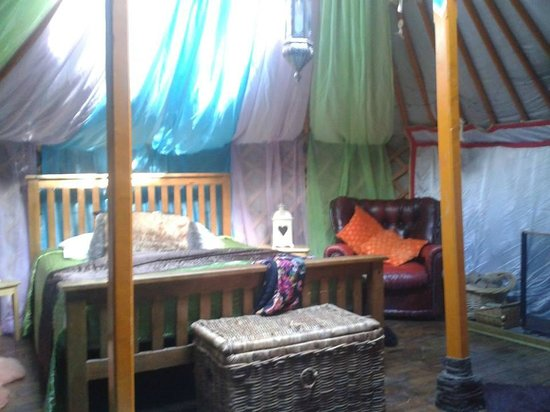 Norfolk Glamping & Yurt Holidays: Inside the Yurt