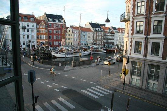 Somandshjemmet Bethel: View over Nyhavn from the side street room