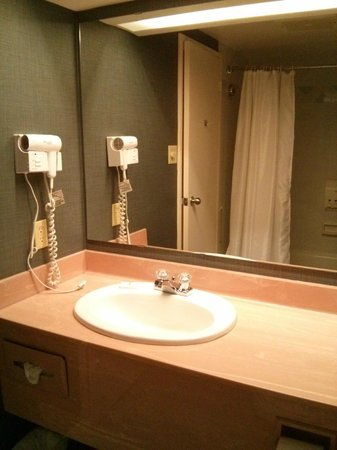Cartier Place Suite Hotel: Bathroom