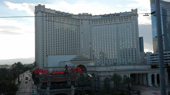 Monte Carlo Resort & Casino: view from other side of street