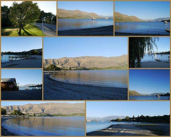 Lake Wanaka i-SITE Visitor Information Centre: Montage of Wanaka