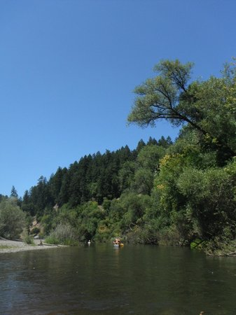 Burke's Canoe Trips on the Russian River: Canoeing and kayaking on the Russian River