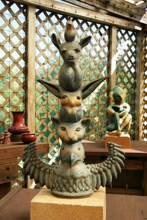 Valley of the Moon Pottery & North Eagle Gallery : Art for Fun