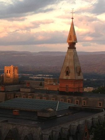 The Statler Hotel at Cornell University: View from hotel window