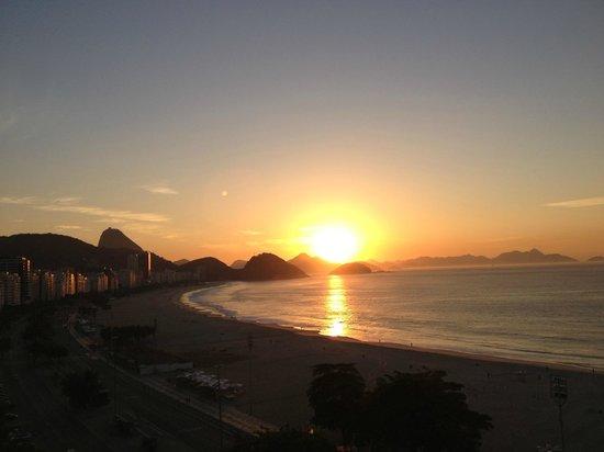 Pestana Rio Atlantica: Vista do quarto