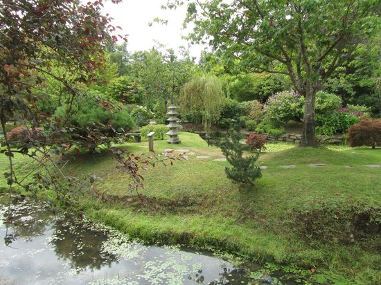 Japanese Garden: View of garden in August 2013