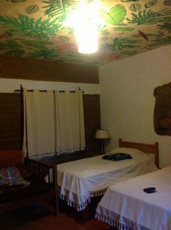 Tesoro 22: habitación ámbar, el techo es muy original