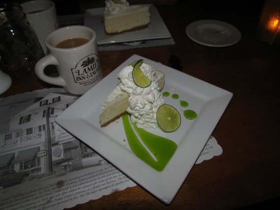 The Old Salt Restaurant: Key Lime Cheesecake