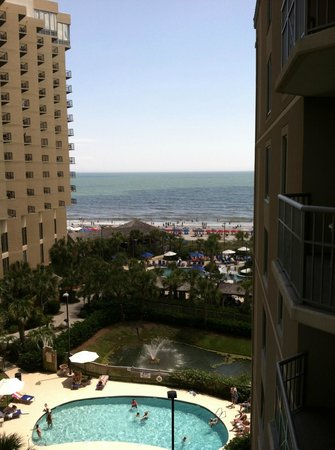 Royale Palms Condominiums by Hilton: View from our balcony