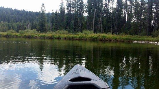 Payette Lake: Canoeing