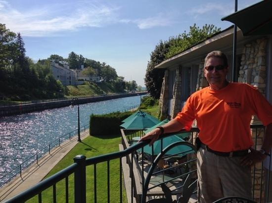 Stafford's Weathervane Restaurant: view
