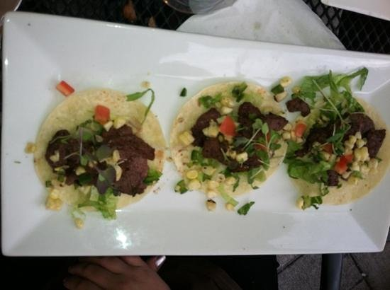 Mesa Modern Mexican: Steak tacos