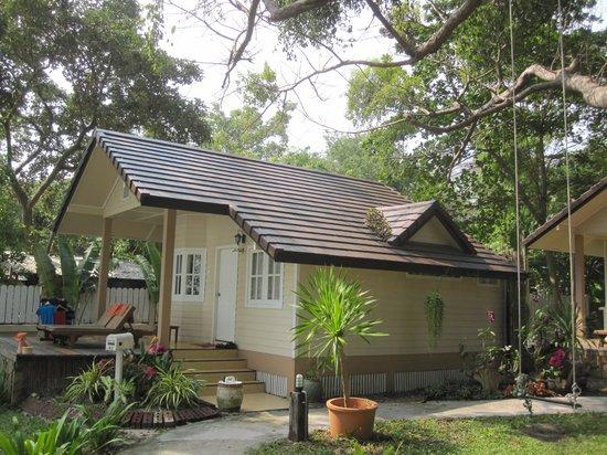 Vongdeuan Resort : Notre mini villa