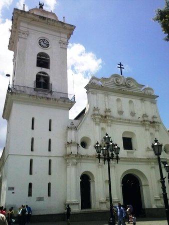 Cathédrale de Caracas : Fachada de la Catedral Metropolitana de Caracas