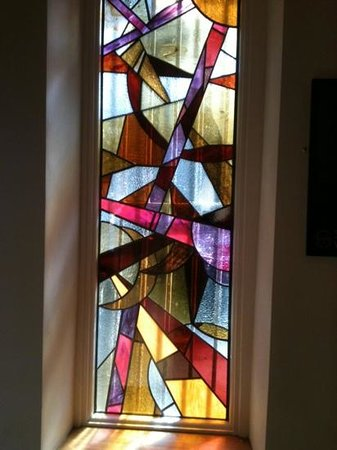 beautiful stained gl window! - Picture of The Firehouse ... on