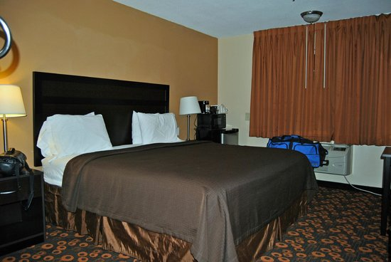 Econo Lodge Inn & Suites: King-size Bed