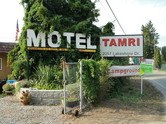 Tamri Motel: Hotel Entrance