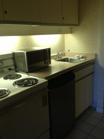 Days Inn - Victoria on the Harbour : useless kitchenette