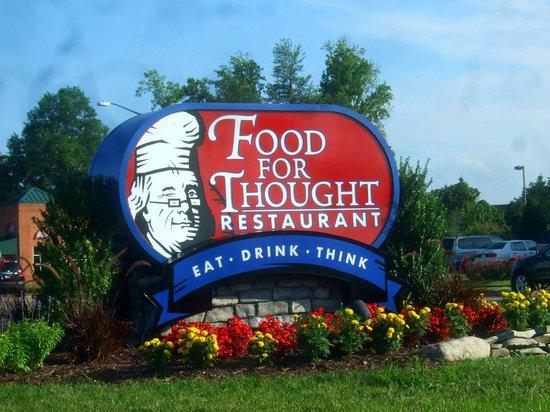 Food For Thought Williamsburg Virginia Menu